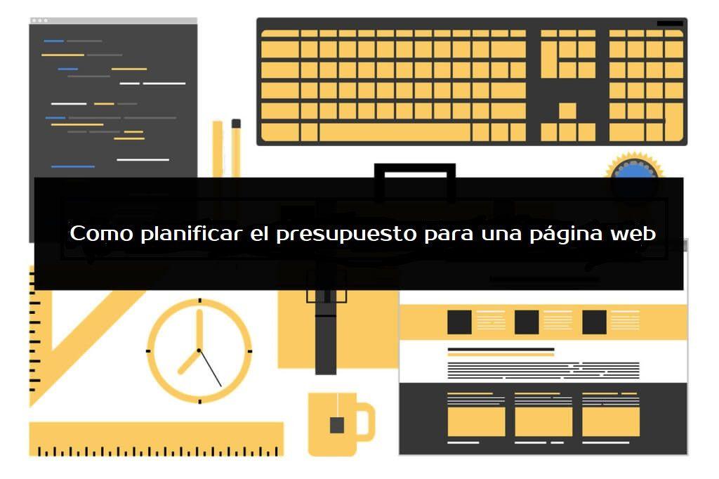 Presupuesto creacion pagina web